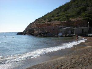 The beach at Portinatx