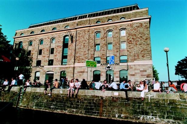 Summertime, Bristol style. (Image courtesy of The Arnolfini)
