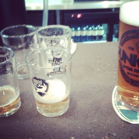 Tasters at Brew Dog - proceed with caution.