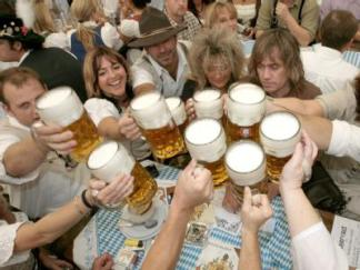 Oktoberfest: Not everyone's cup of, erm, beer.