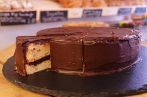 The Chocolate Chffon Cake from East Bristol Bakery (Credit: Alex Poulter, http://www.flickr.com/photos/livingfortuesday/)