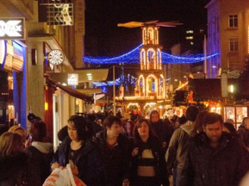 The German Christmas Market in Broadmead