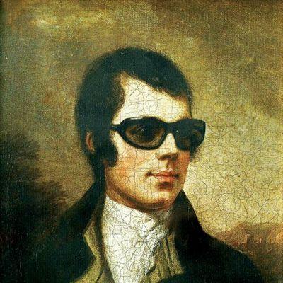 Picture of Robert Burns, Scottish poet