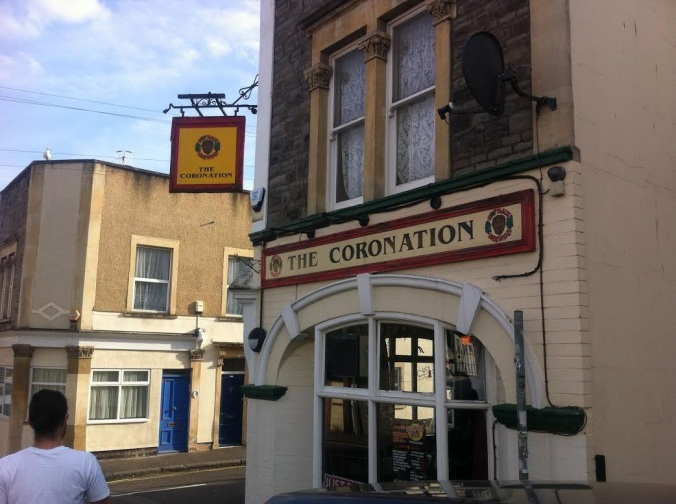 The outside of The Coronation