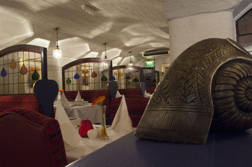 Bristol Raj interior
