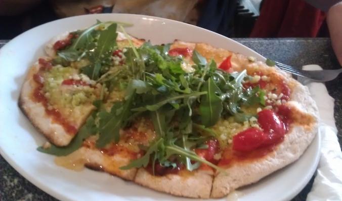 Chapel Arts Cafe pizza