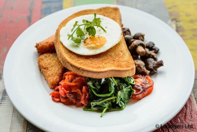 Lounge veggie breakfast