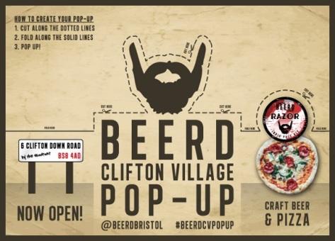 Beerd pop up Bristol