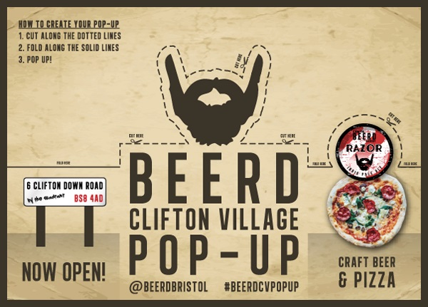 Beerd pop up Bristol