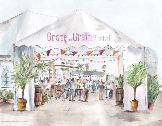 Grape and Grain Festival 2014