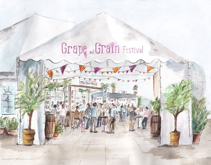 Grape and Grain Festival 2014