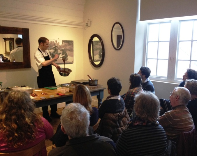 Head to River Cottage Canteen for cookery demos or food workshops.