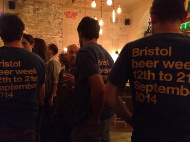 Bristol Beer Week T-shirts