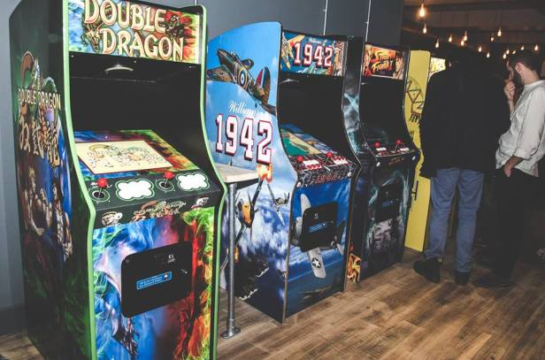 Arcade games at Kongs of King Street