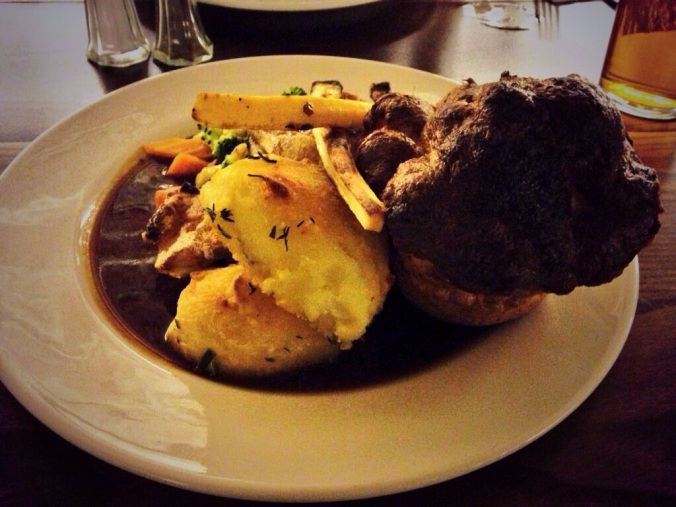 The roast dinner at The Beer Emporium