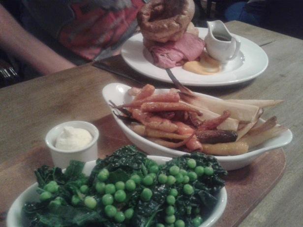 The Steam Crane roast dinner