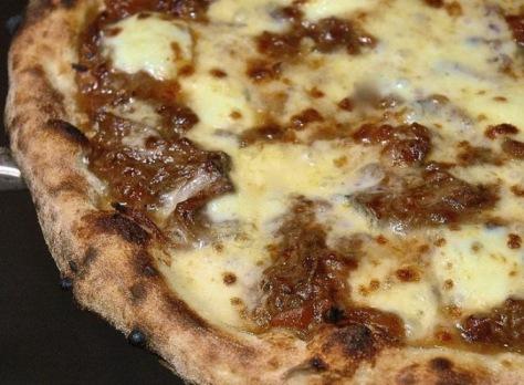 Pizza at Flour & Ash