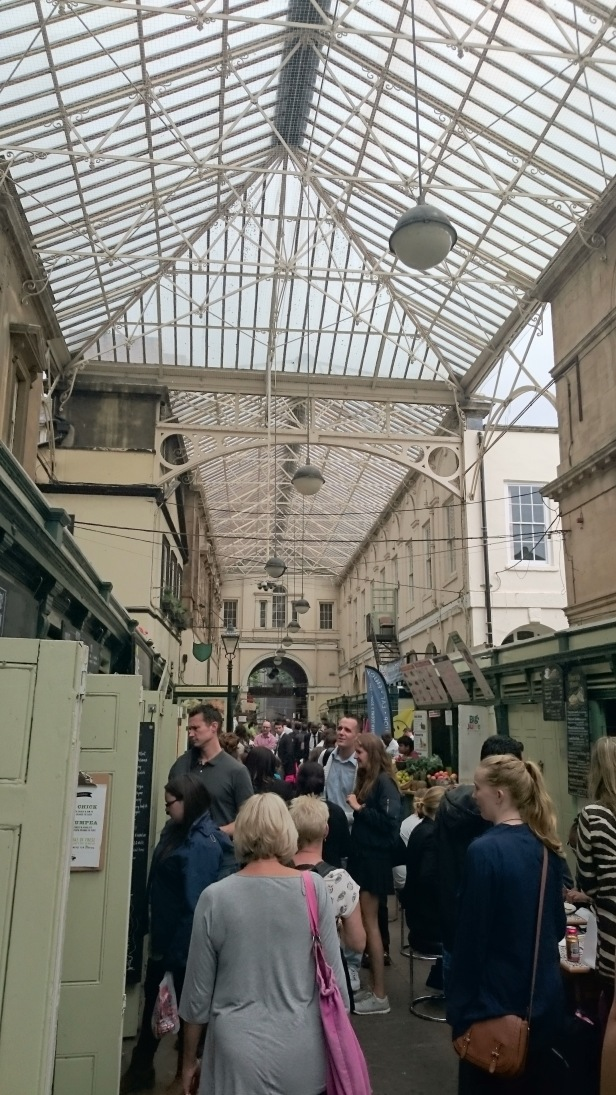 The central arcade at St Nicholas Market