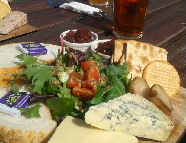 The epic Ploughman's at The Apple