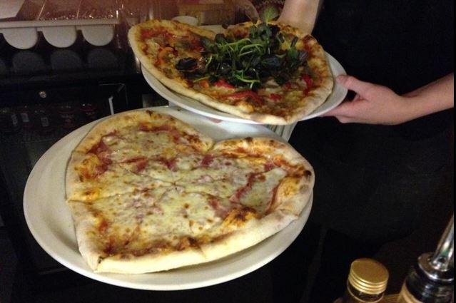 Bocabar pizza