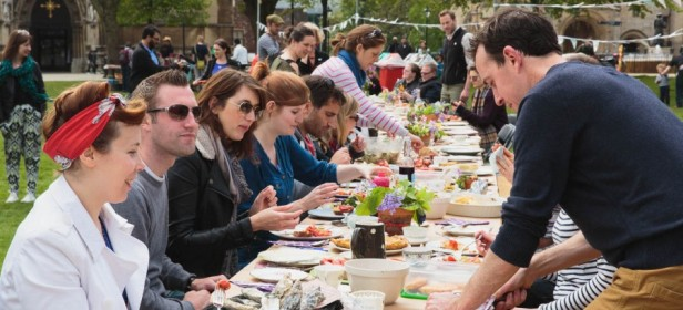 Join the mass Eat In on 4th May as part of Food Connections