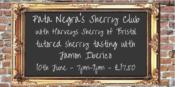 The debut of Sherry Club arrives at Pata Negra on 10th June