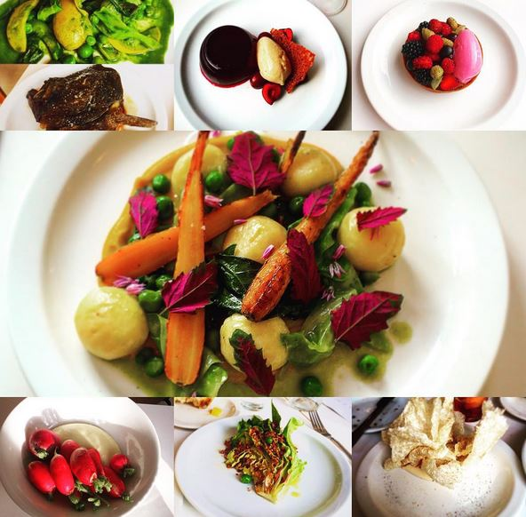 A colourful selection of dishes from Birch