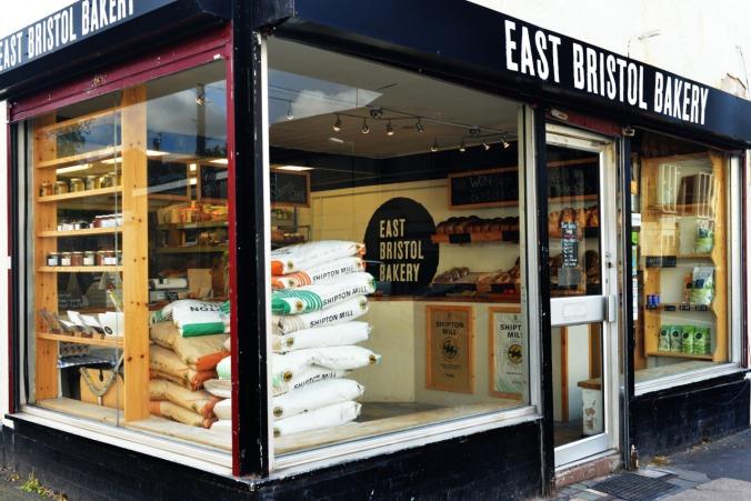 east bris bakery outside
