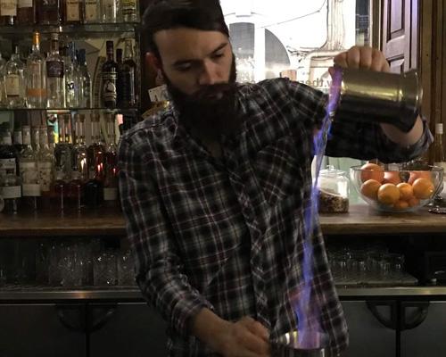 rummer blazing brandy