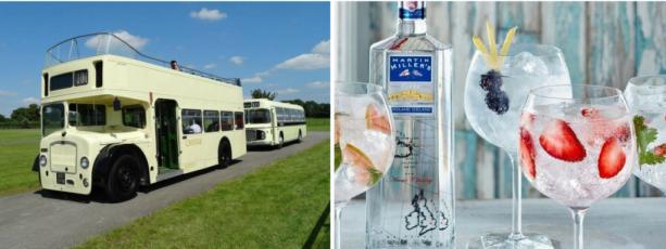 Martin Miller gin bus