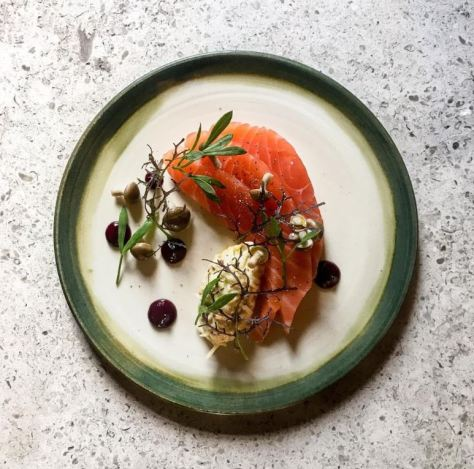 Yurt Lush salmon dish