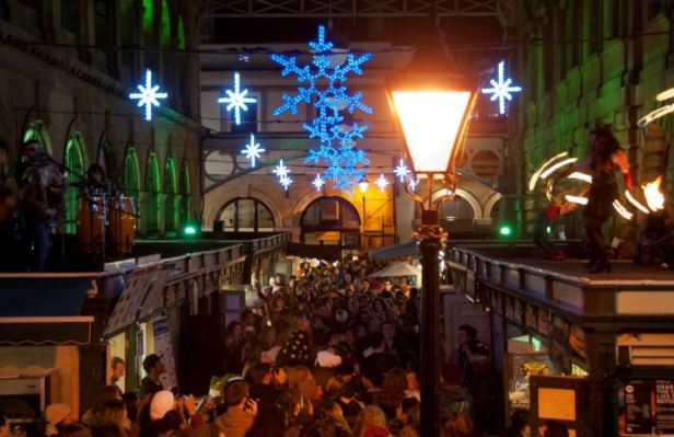St Nicks xmas market