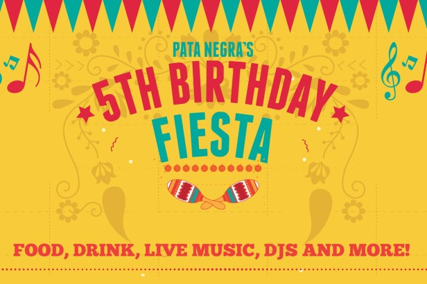 Pata Negra 5th birthday fiesta