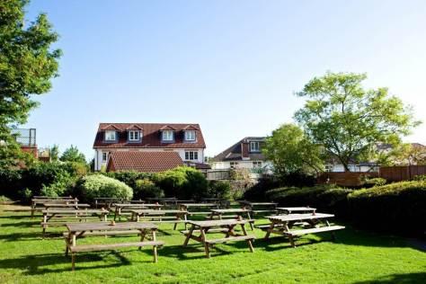 Cambridge Arms garden, Bristol