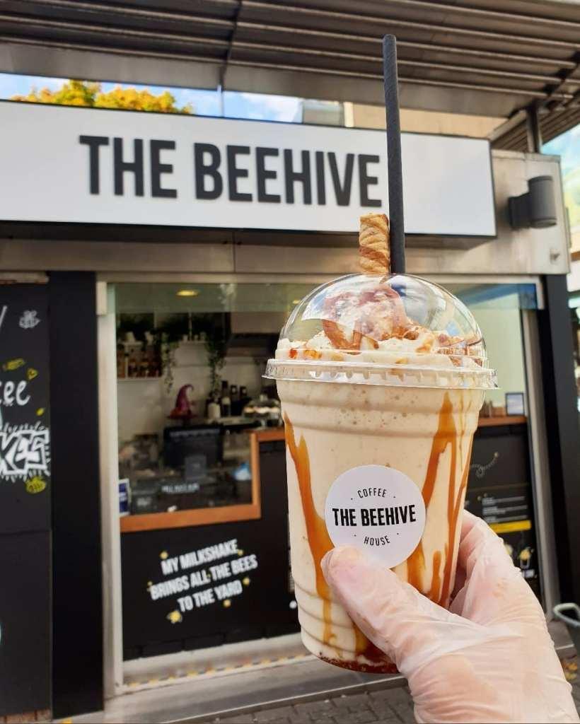 Freakshakes at The Beehive Kiosk Bristol