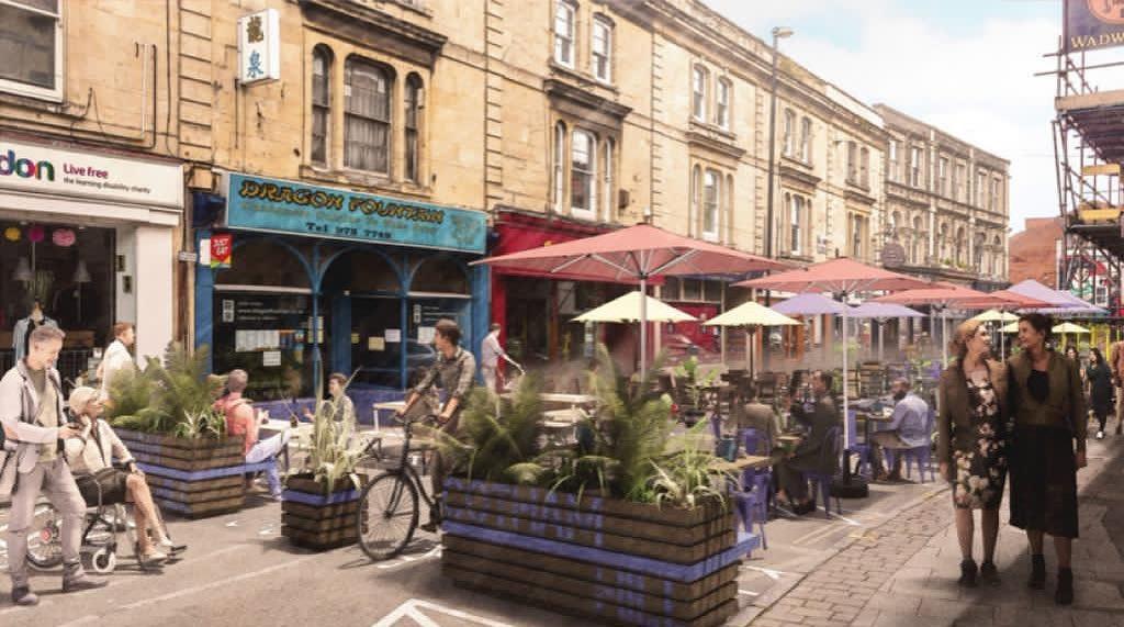 Cotham Hill pedestrianisation, Bristol