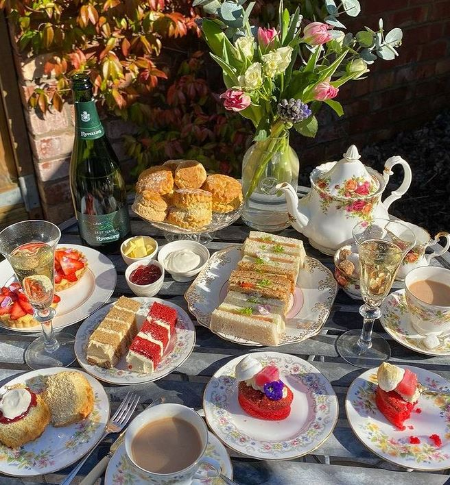 Afternoon tea from Skyboat Cafe Bristol
