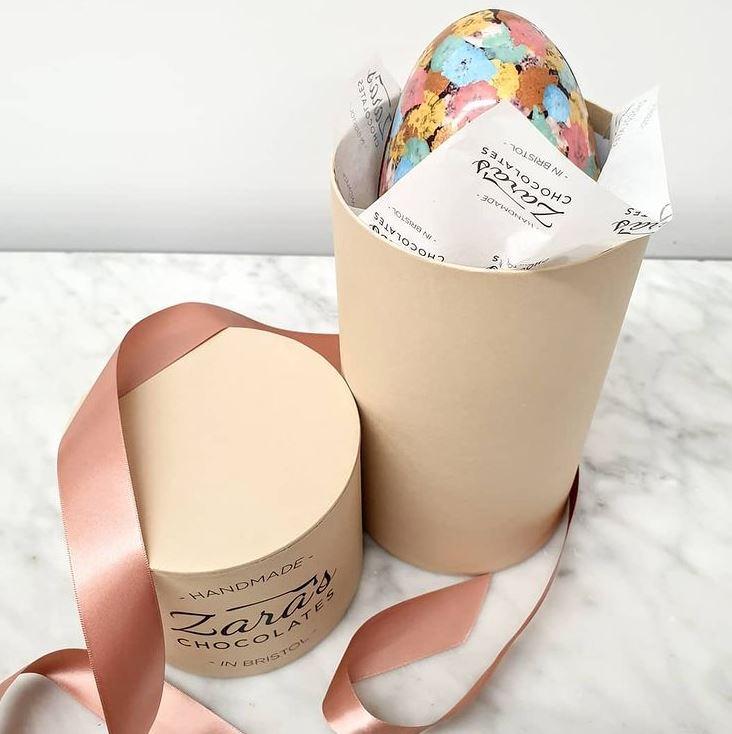 Zara's Chocolates Easter egg