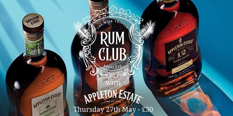 Appleton Rum Club at Milk Thistle