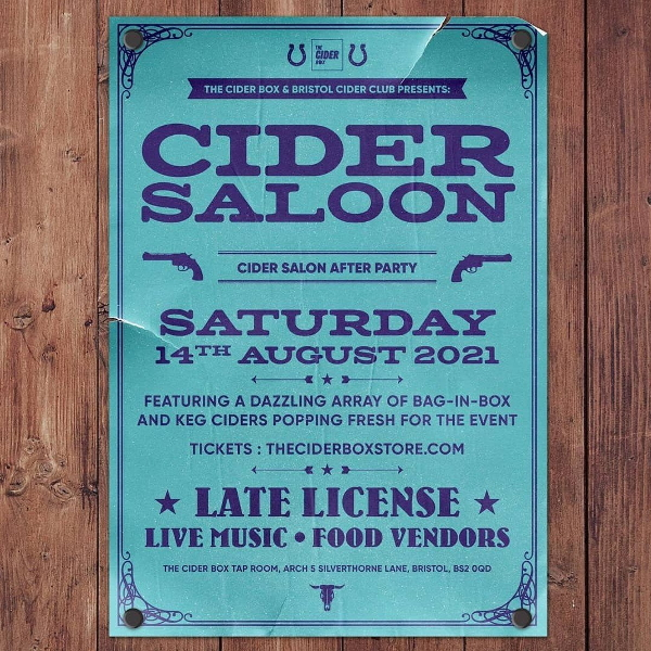 Cider Saloon poster