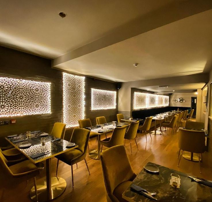 Haveli the Yard restaurant interior