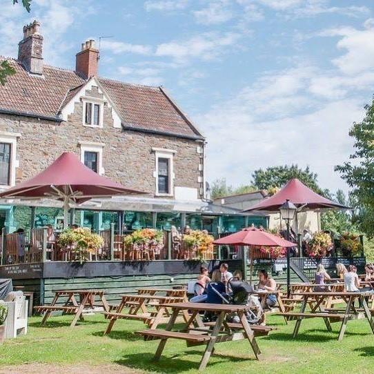 Pub garden at The Lock Keeper