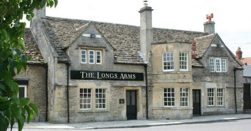 The building at The Longs Arms