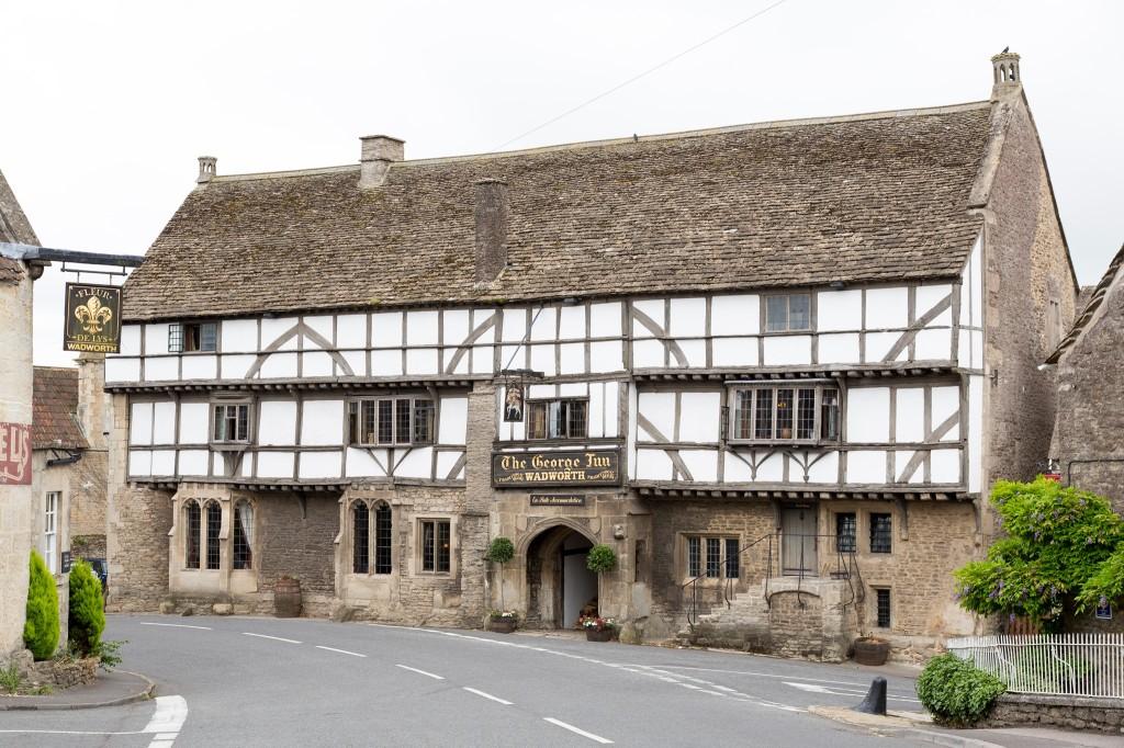 Exterior of The George Inn